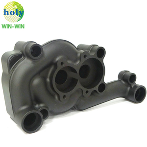 High Performance 6061T6 Black Aluminum CNC Machining Parts Scavenge Housing