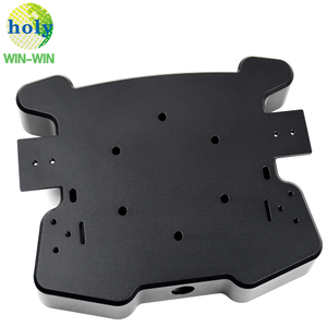 Precision CNC Aluminum Housing Machining Parts with Black Anodize Finish